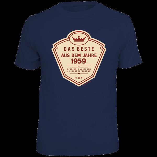 """T-Shirt """" Das Beste aus dem Jahre 1959"""""""