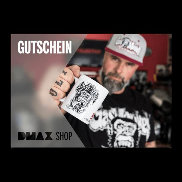 """Gutschein zum Selbstausdrucken """"Gas Monkey Garage"""""""