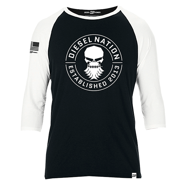 "Diesel Power Gear Baseballshirt ""Diesel Nation"""