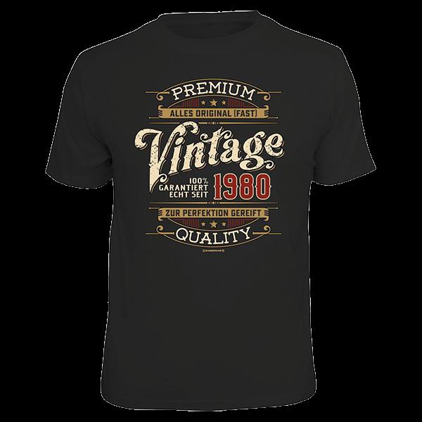 "T-Shirt ""Vintage - 1980"""