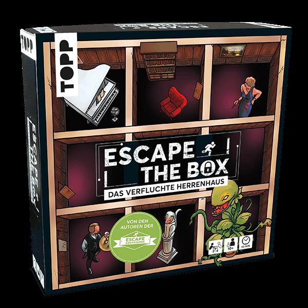 """Escape-The-Box-Spiel """"Das verfluchte Herrenhaus"""""""