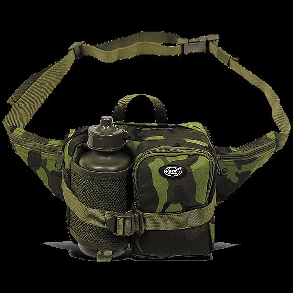 """Hüfttasche mit Trinkflasche """"Camouflage"""""""