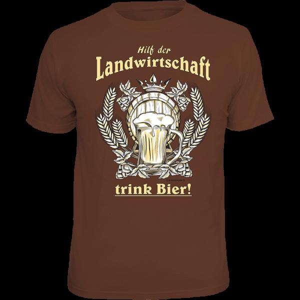 """T-Shirt """"Hilf der Landwirtschaft"""""""