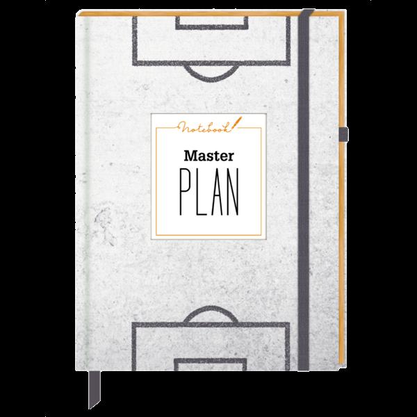 """Notizbuch """"Masterplan"""""""