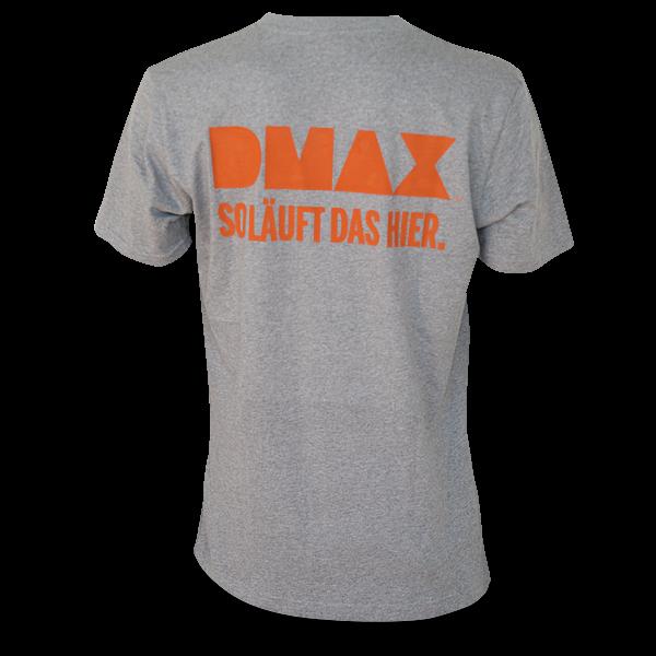 "DMAX T-Shirt ""So läuft das hier."""