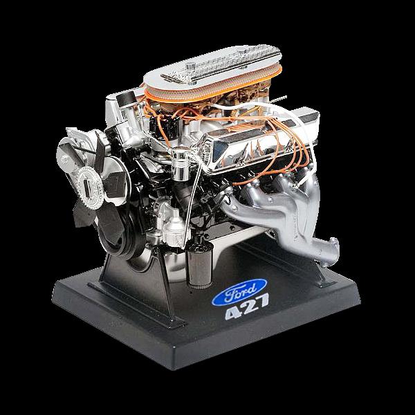 Standmodell eines Ford V8 Big Block 427 cui Motors
