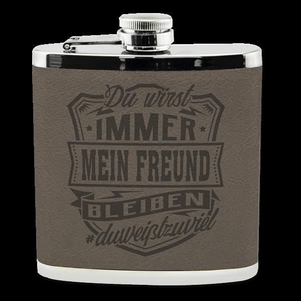 "Flachmann ""Freund"""