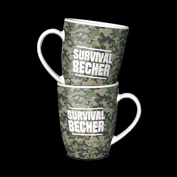 """Tasse """"Survival Becher"""""""