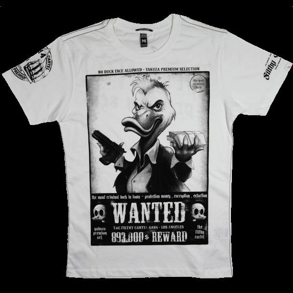 """Yakuza Premium T-Shirt """"Wanted"""""""
