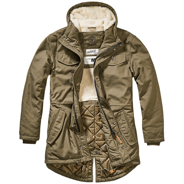 "Fishtail Parka ""Marsh Lake"" von Brandit"