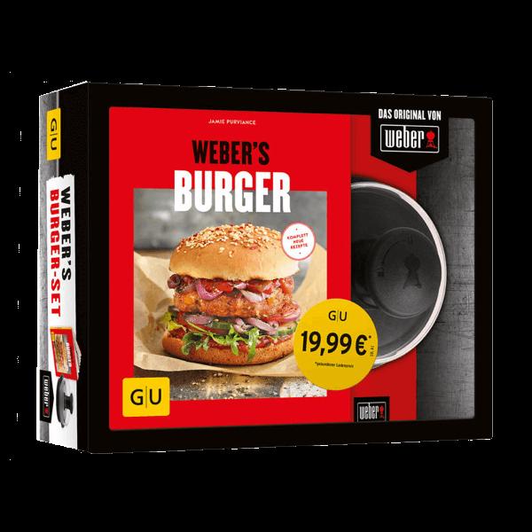 """Geschenkset """"Weber's Burger mit Hamburgerpresse"""""""
