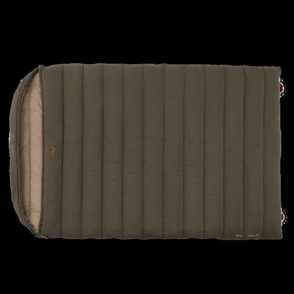 Komfortabler Doppelschlafsack mit Kapuze