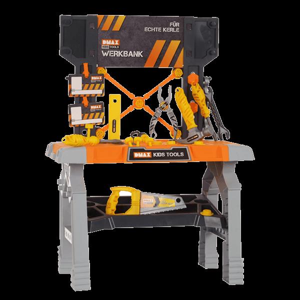 DMAX Kids Tools Werkbank mit Ausrüstung (30-teilig)