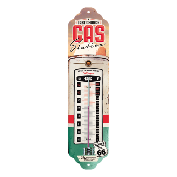"""Thermometer """"Gas Station"""""""