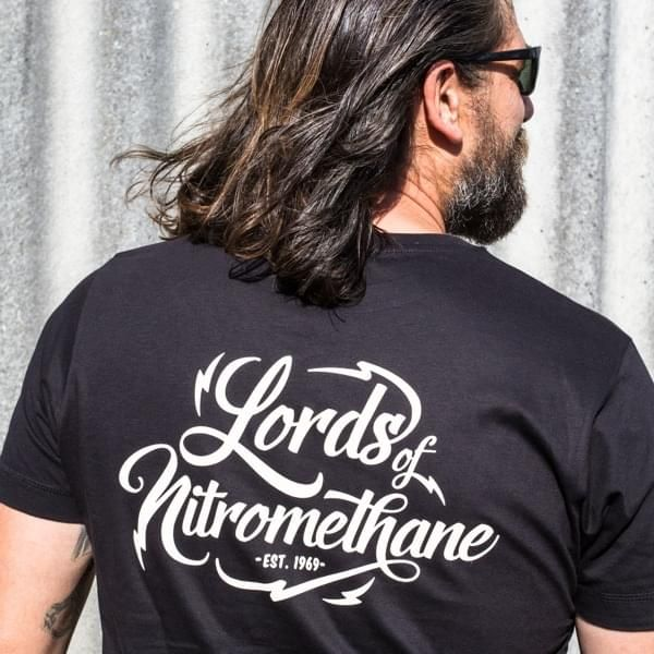 "Lords of Nitromethane T-Shirt ""Logo"""