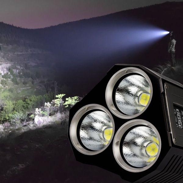 Ultrakrasse 9.000 Lumen Taschenlampe