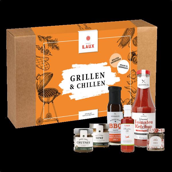 "Geschenkset ""Grillen & Chillen"""