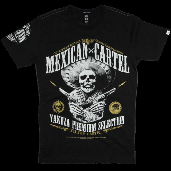 "Yakuza Premium T-Shirt ""Mexican Cartel"""