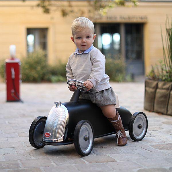 "Kinderauto ""Black Racer"""