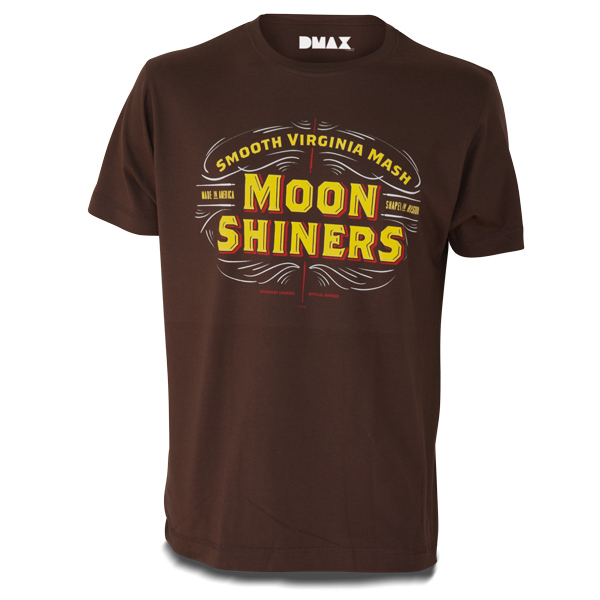 "Moonshiners T-Shirt ""Smooth Virginia Mash"""