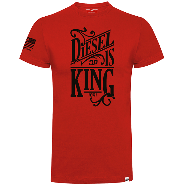 "Diesel Power Gear T-Shirt ""Diesel is King"""