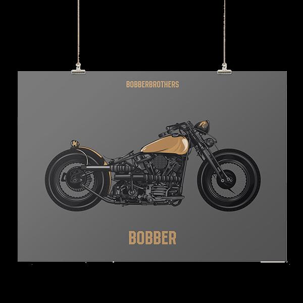 """Kunstdruck """"Bobber"""" von Bobber Brothers"""