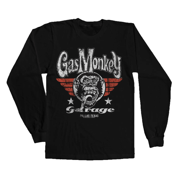 "Gas Monkey Garage Longsleeve ""Flying High"""