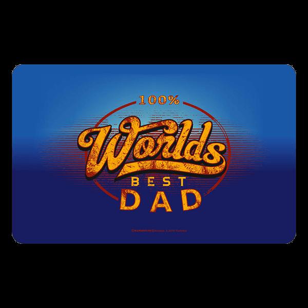 "Frühstücksbrett ""Best Dad"""