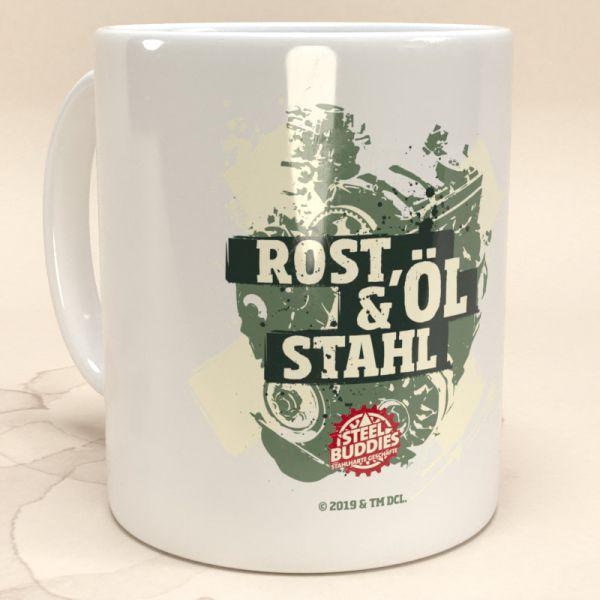 """Steel Buddies Tasse """"Rost, Öl & Stahl"""""""