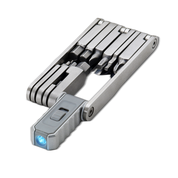 15-in-1 Multiwerkzeug inkl. LED-Lampe