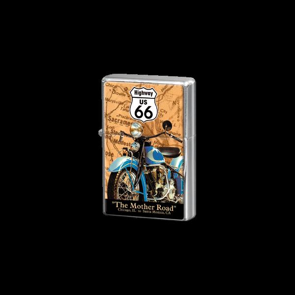 "Feuerzeug ""Route 66"" (3 Motive)"