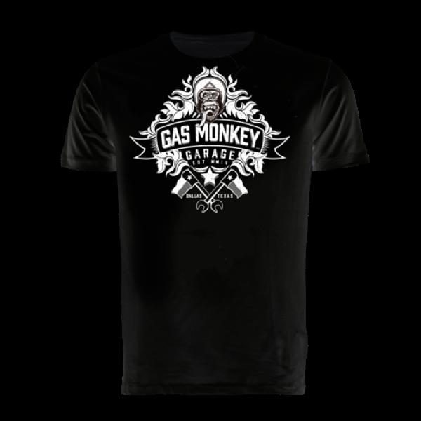 """Gas Monkey Garage T-Shirt """"Banner"""" (Größe S)"""