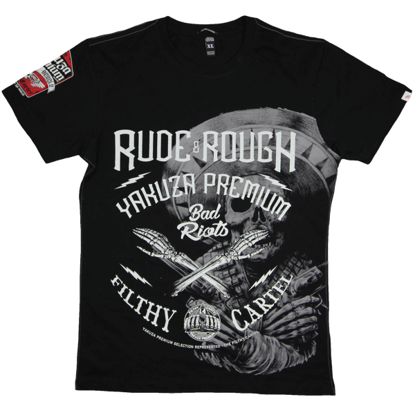 "Yakuza Premium T-Shirt ""Rude & Rough"""