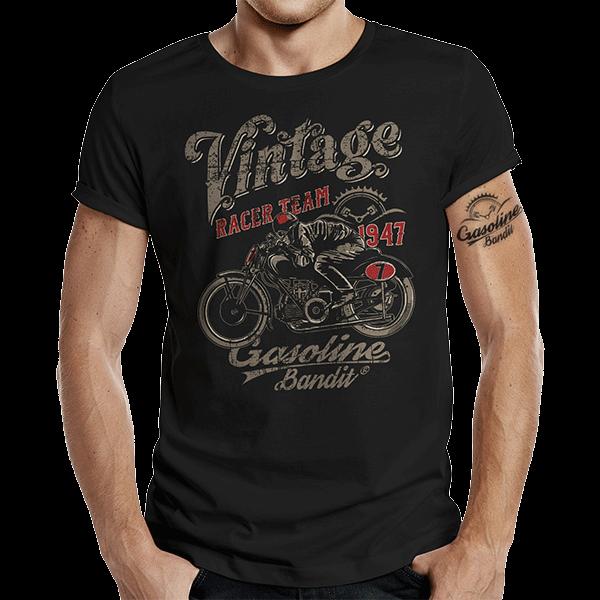 """T-Shirt """"Vintage Racer"""" von Gasoline Bandit"""