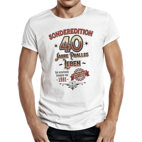 "T-Shirt ""Sonderedition 1981"""