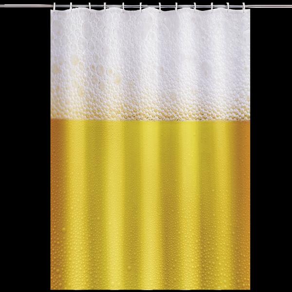 """Duschvorhang """"Bier"""""""