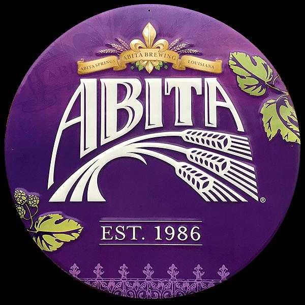 """Brauerei-Blechschild """"Abita"""""""