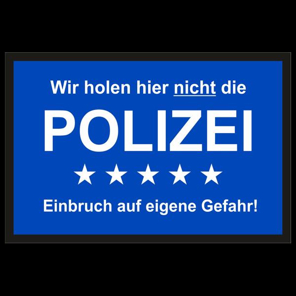 "Türmatte ""Polizei"""