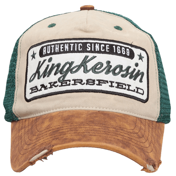 """King Kerosin Trucker Cap """"Bakersfield"""""""