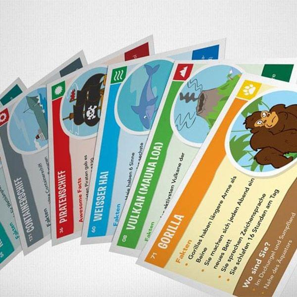 Kinderspiel zu Kinder Weltkarte