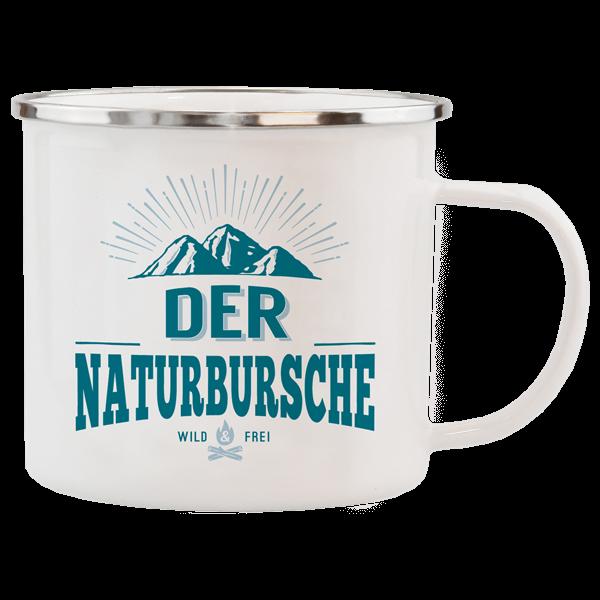 "Emaille-Becher ""Naturbursche"""
