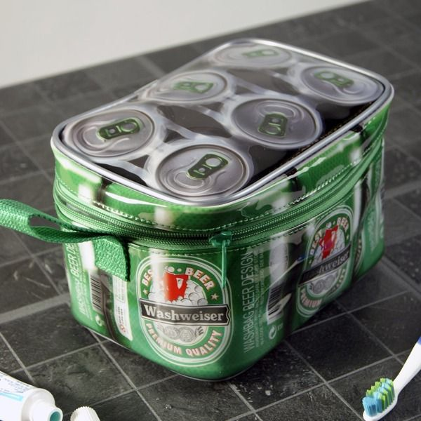 "Kulturbeutel ""Washweiser Sixpack"""