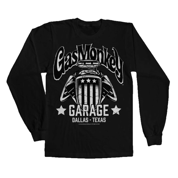 "Gas Monkey Garage Longsleeve ""American Engine"""