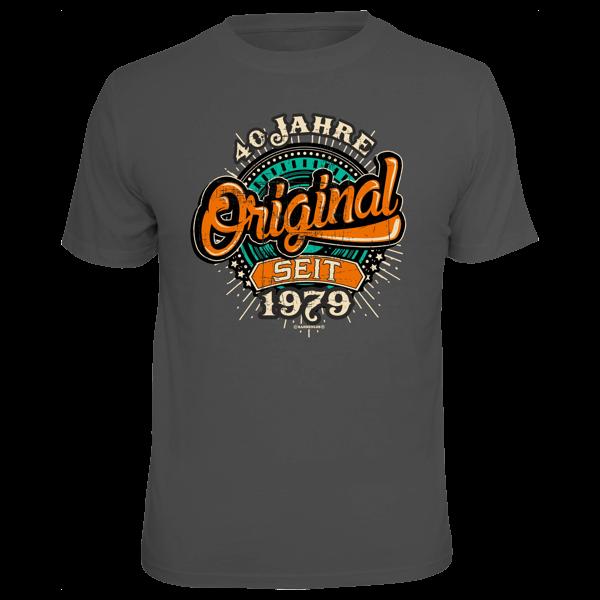 """T-Shirt """"Original seit 1979"""""""