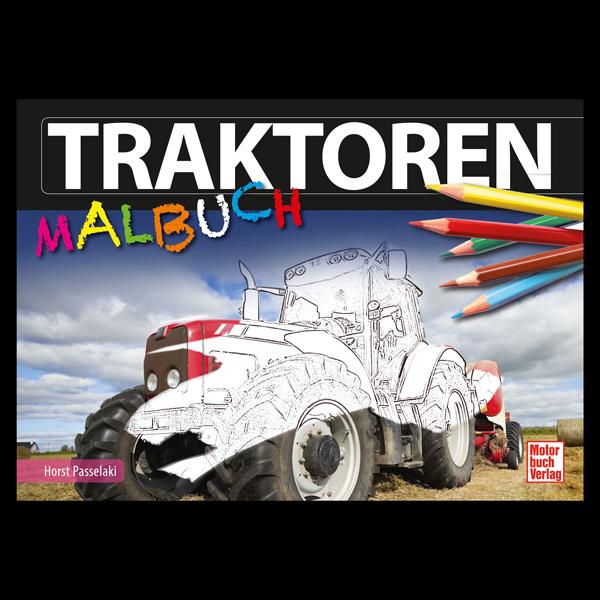 "Malbuch ""Traktoren"""