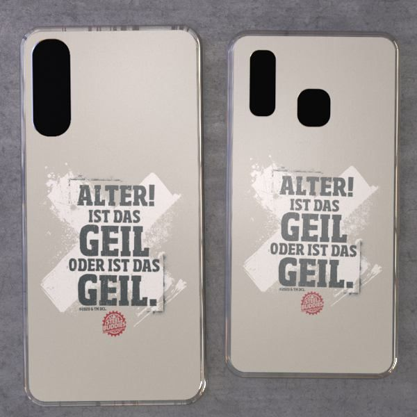 "Steel Buddies Cover ""Geil"" für Galaxy A Modelle"