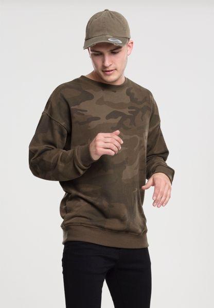 """Frottee Sweatshirt """"Camo"""" von Urban Classics"""