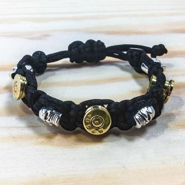 """Damen Armband """"Bullet & Skull"""""""