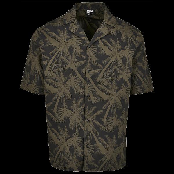 """Beach Shirt """"Palmtree"""" von Urban Classics"""