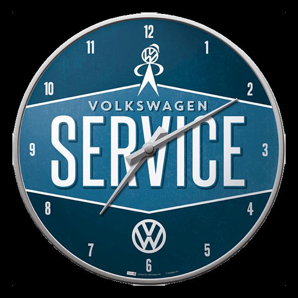 "Wanduhr ""VW Service"""